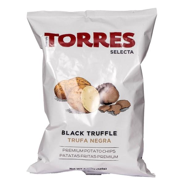 Torres Selecta Schwarzer Trüffel Premium Chips 125g