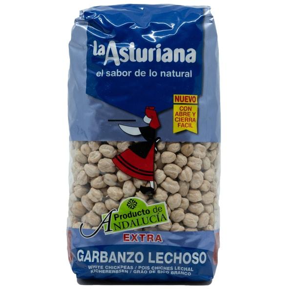 La Asturiana Garbanzo Lechoso Kichererbsen 1kg