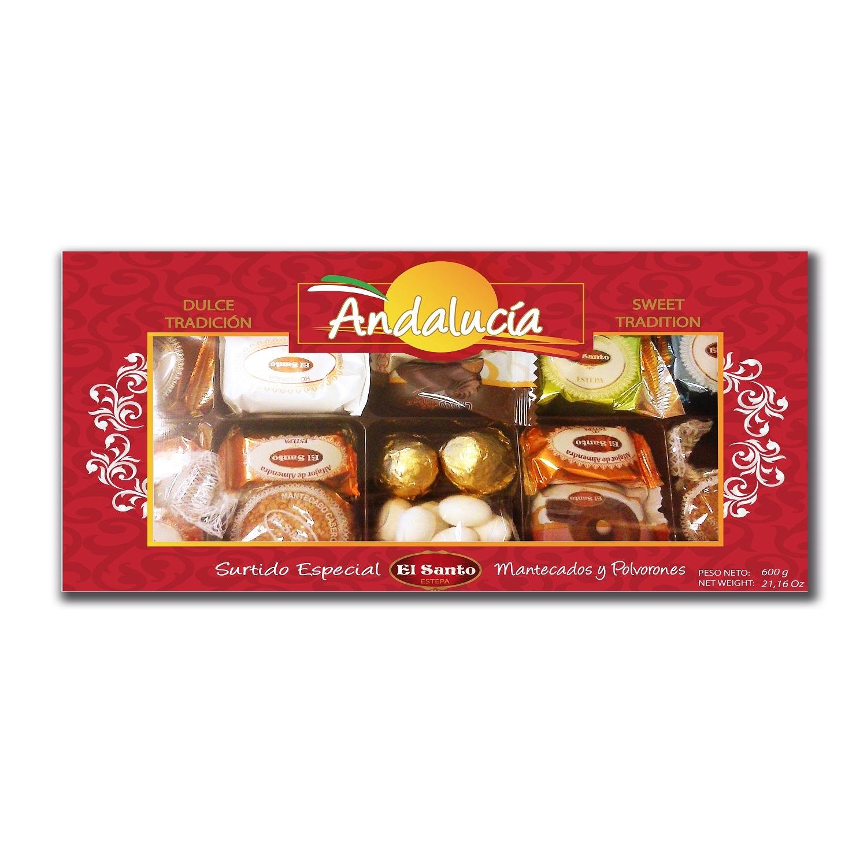 El Santo Andalucia Surtido Especial de Navidad Gebäckmischung 600g