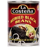 La Costeña Refried black Beans schwarzes Bohnenmus 580g