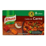 Knorr Caldo de Carne Fleisch Brühwürfel 80g