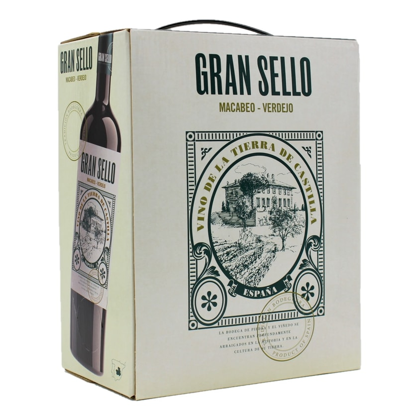 Gran Sello Macabeo Verdejo Weißwein BackinBox 3l