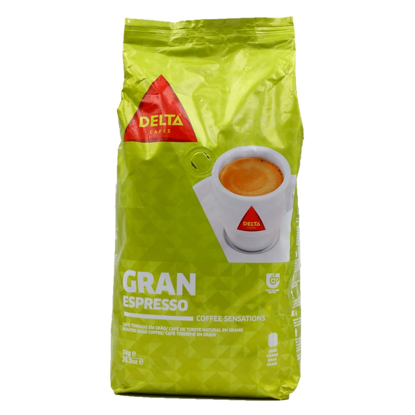 Delta Gran Expresso Café Torrado Kaffebohnen 1kg