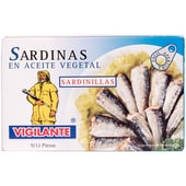 Vigilante Sardinen in Pflanzenöl 88g
