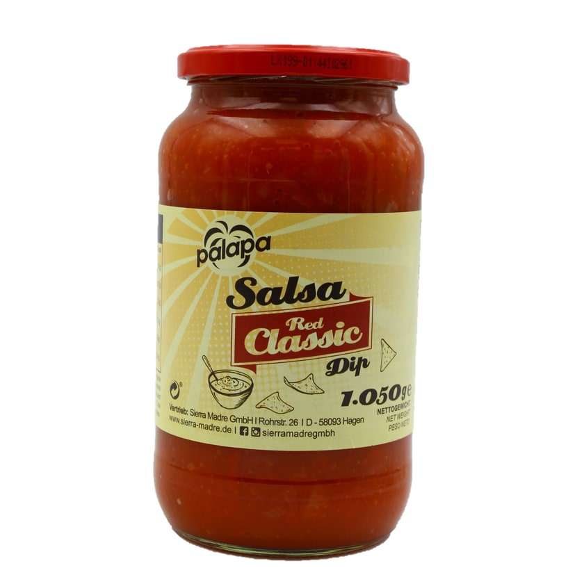 Palapa Red Salsa Dip Classic 1,05kg