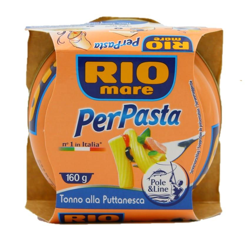 Rio mare Per Pasta Tonno alla Puttanesca Fertigsauce für Nudeln 160g