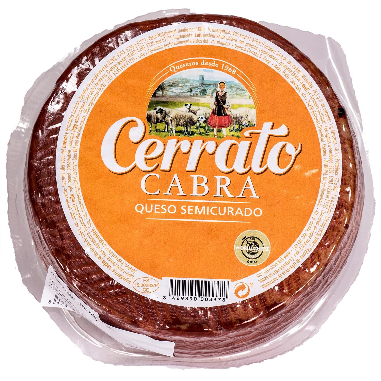 Cerrato Cabra Queso Semicurado Ziegenkäse 1kg