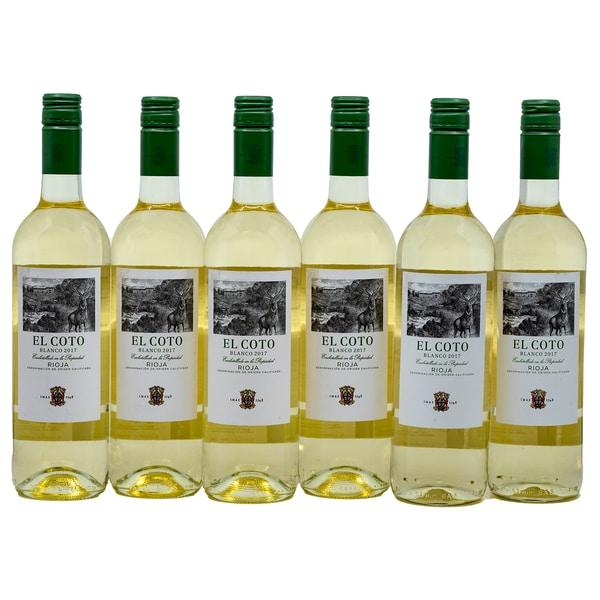 El Coto Weisswein Blanco Rioja 6 x 750ml, 4,5l