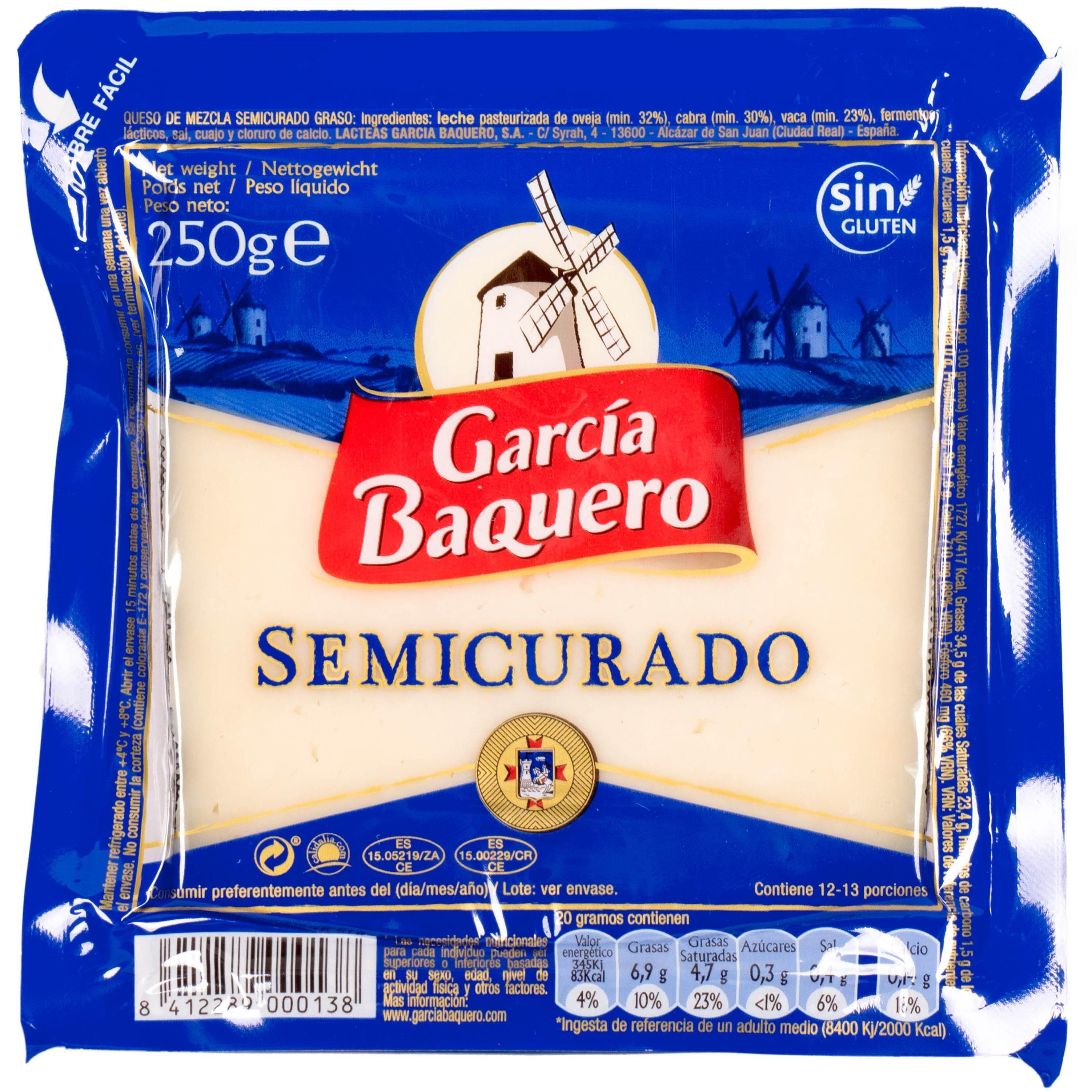 Garcia Barquero Semicurado Spanischer Mischkäse 250g