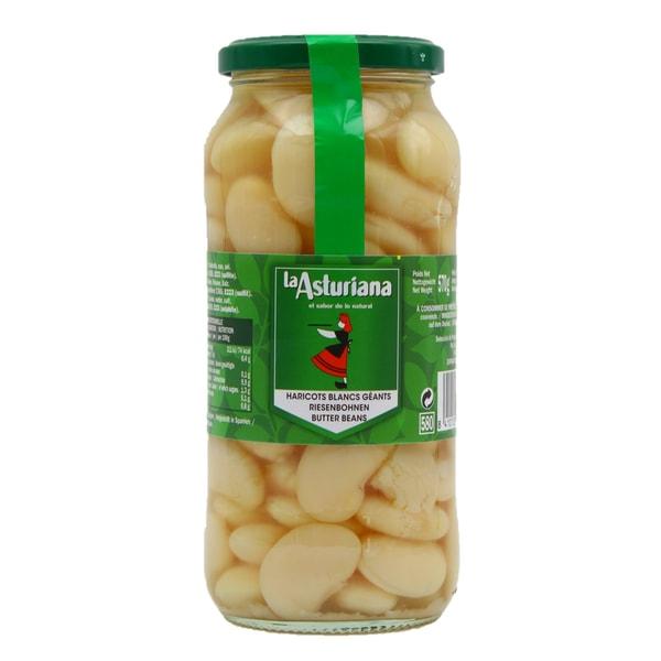 La Asturiana Alubias Gekochte Riesenbohnen 350g