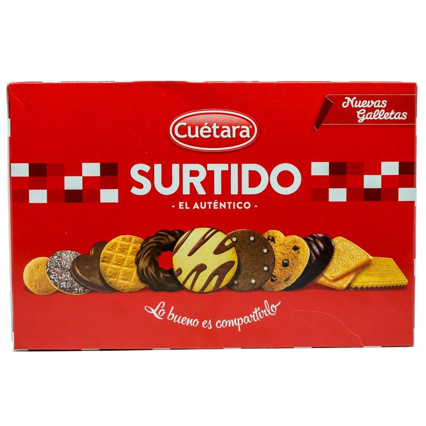 Cuétara Surtido El Autentico Gebäckmischung 420g