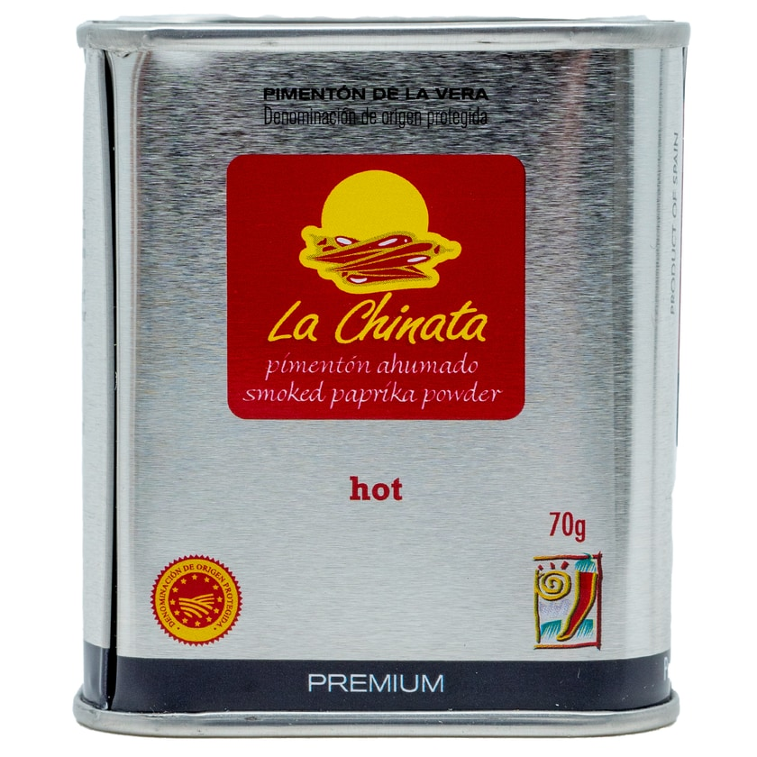 La Chinata de la Vera Paprikapulver Premium scharf 70g