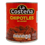 La Costeña Chipotles en Adobo geröstete Chilis in pikanter Soße 1,5kg