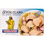Vigilante Heller Thunfisch in Pflanzenöl 73g