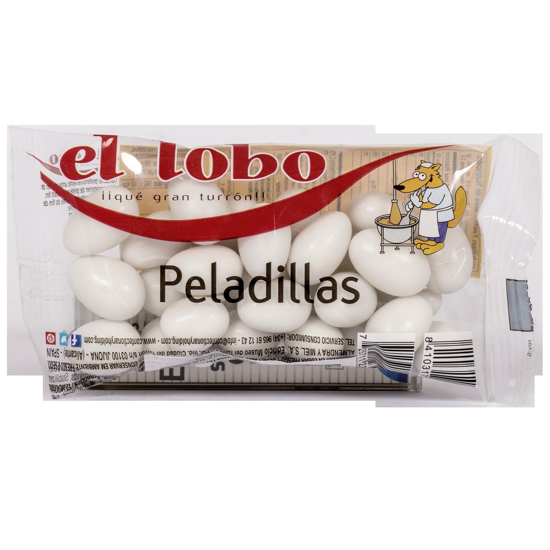 El Lobo Peladillas geröstete Mandeln mit Zuckermantel 100g