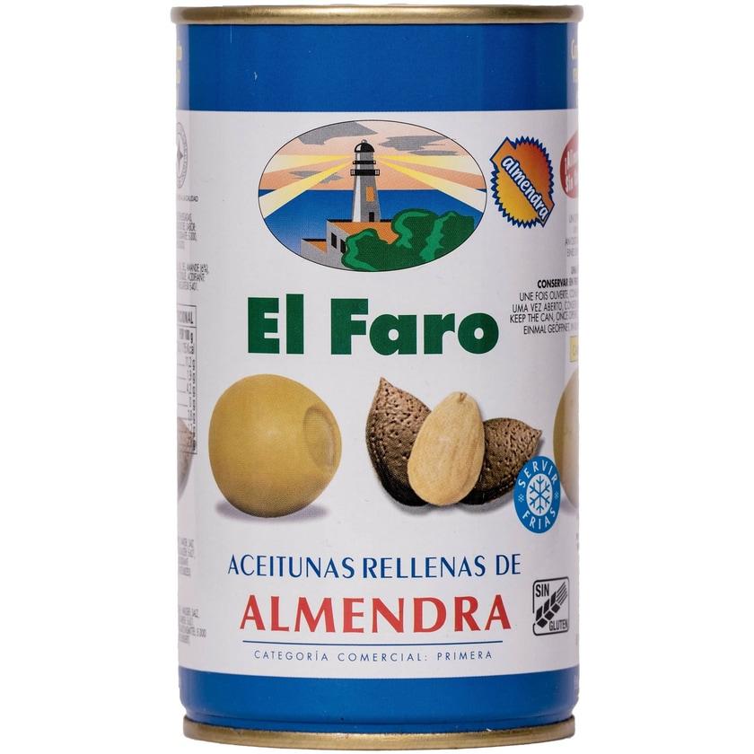 El Faro Oliven mit Mandeln 150g