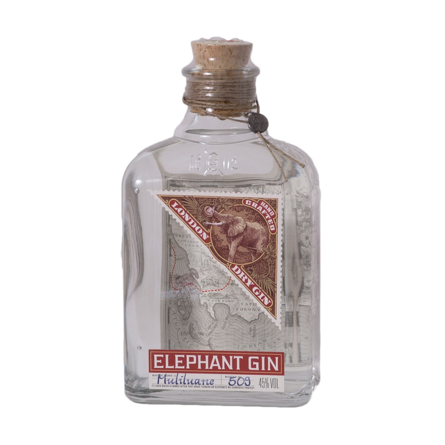 Elephant Gin London Dry Gin 50ml