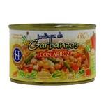Huertas Jardinera de Garbanzos con Arroz Kichererbsen mit Gemüse und Reis 415g