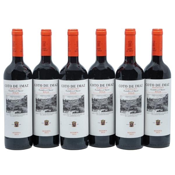 Coto de Imaz Reserva Rioja Rotwein 6 x 750ml, 4,5l