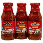La Costeña Salsa Mexicana casera mittelscharfe grobstückige Sauce 3x250g