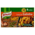 Knorr Caldo de Galinha Hühnerbrühwürfel 80g