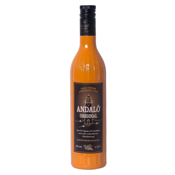Andalö Original Liqueur mit Sanddorn 0,7l