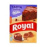 Royal Tarta de Chocolate Milka Backmischung mit Miilkaschokolade für Schokoladenkuchen 350g