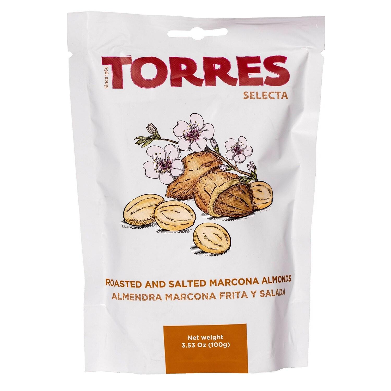 Torres Selecta Salted Marcona Almonds geröstete und gesalzene Mandeln 100g
