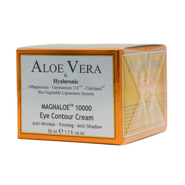 Canarias Cosmetics Aloe Vera Magnaloe 10000 E Eye Contour Cream Augencreme 50ml