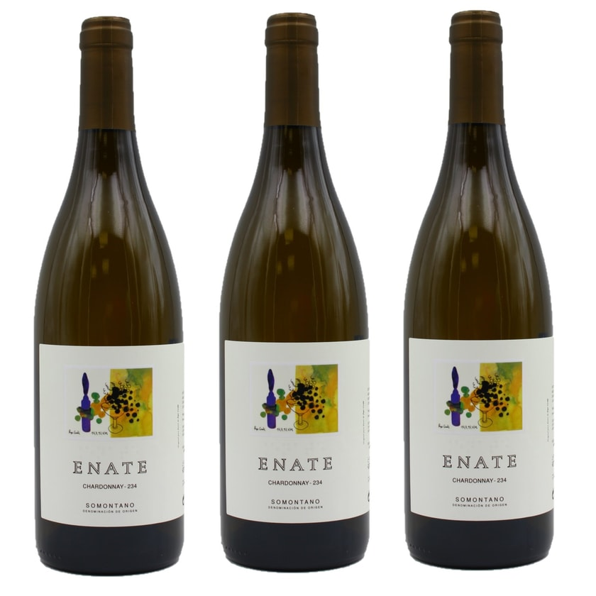 Enate Chardonnay 234 Weißwein 3x750ml