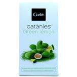 Cudie Catanies Green Lemon Karamellisierte Mandeln mit Zitronenschokolade 80g