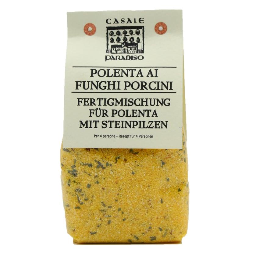 Casale Paradiso Polenta Ai Funghi Porcini Fertigmischung für Polenta mit Steinpilzen 300g