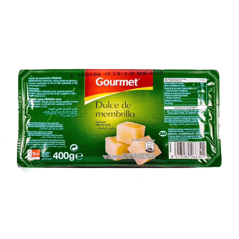 Gourmet Dulce de Membrillo Quittenmarmelade 400g