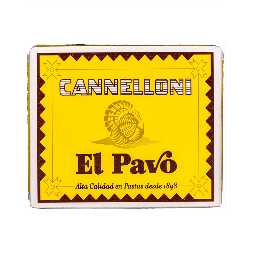 El Pavo Nudelplatten für Cannelloni Canelones 125g