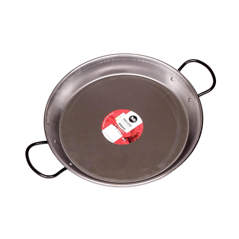 Vaello Campos Paellapfanne für Induktion Stahl poliert 30cm