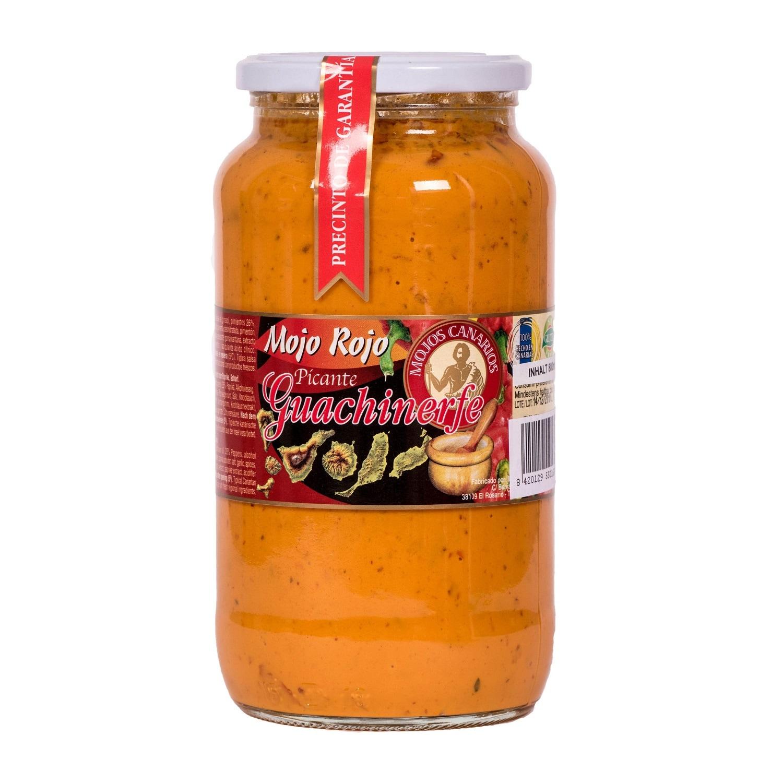 Guachinerfe Mojo Rojo Picante rote Soße pikant 880ml
