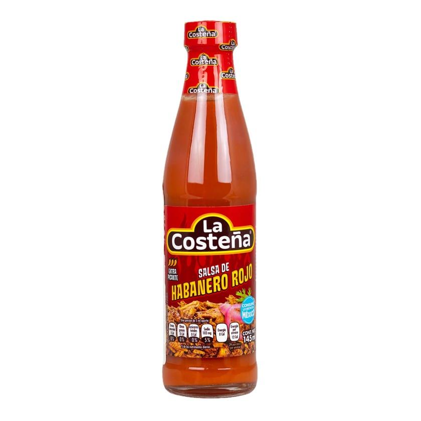 La Costeña Salsa de Habanero Rojo rote scharfe Sauce 145ml