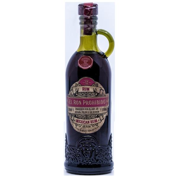 El Ron Prohibido Mexican 12 Jahre Rum 100ml