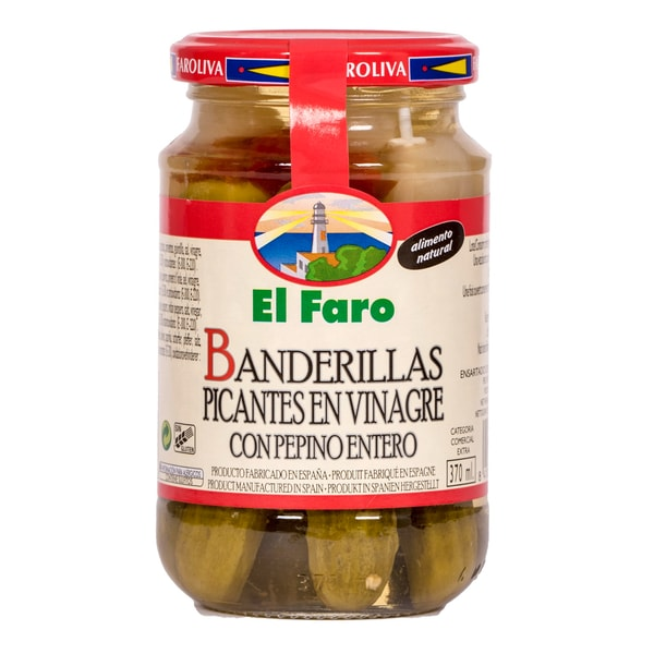 El Faro Banderillas Picantes pikante Gemüsespieße 150g
