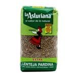 La Asturiana Lentejas Pardina grüne kleine Linsen 1kg