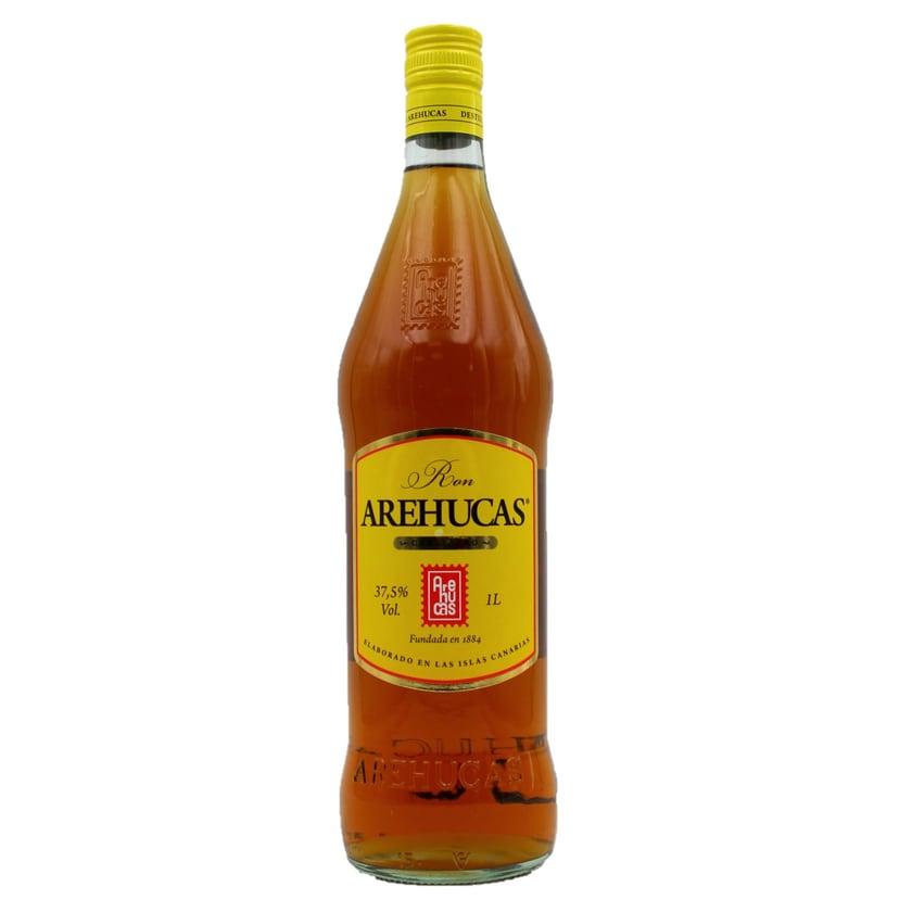 Arehucas Carta Oro Ron Dorado Rum 1l