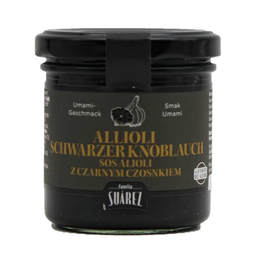 Familia Suárez Allioli schwarzer Knoblauch 135g