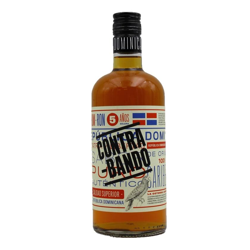 Contrabando Ron 5 Años Rum 0,7l