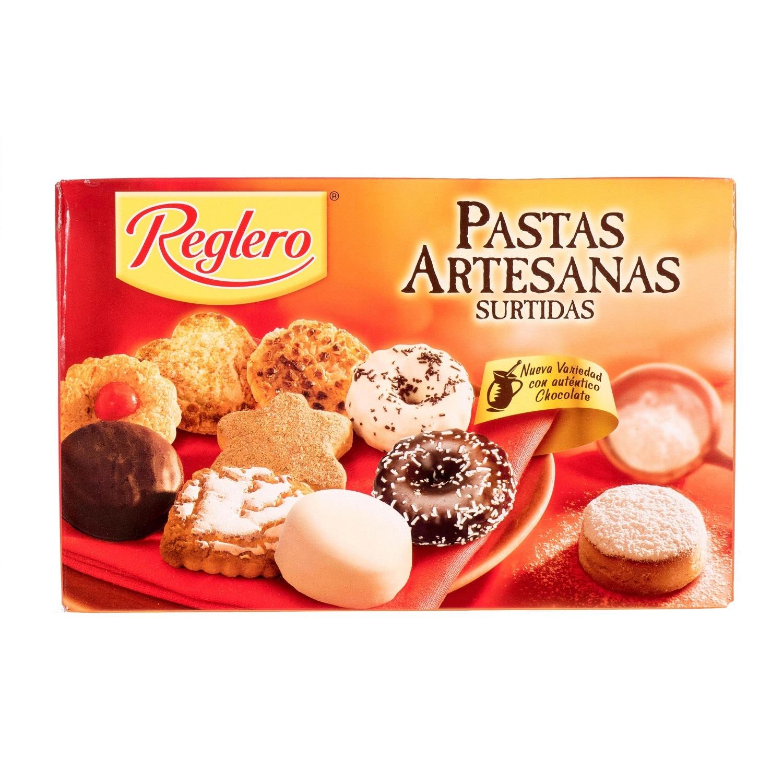 Reglero Pastas Artesanas Surtidas Gemischtes Gebäck 400g, 18 Stück