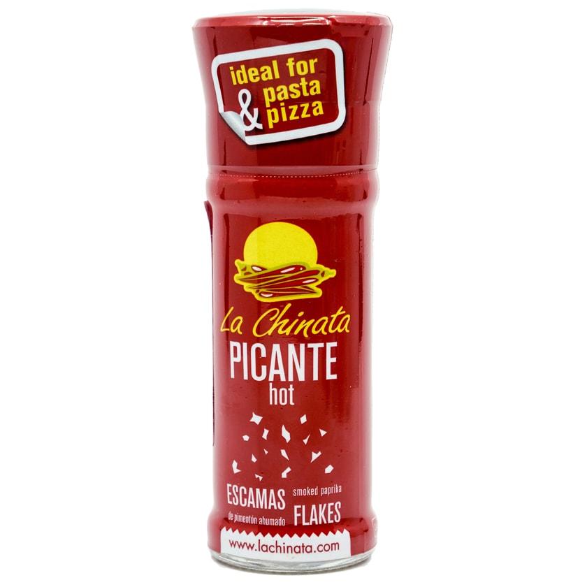 La Chinata Escamas de Pimenton picante Paprikaflocken scharf geräuchert 24g