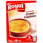 Royal Crema Catalana Katalanische Dessertcreme Pulver zur Zubereitung 120g, 5 Portionen