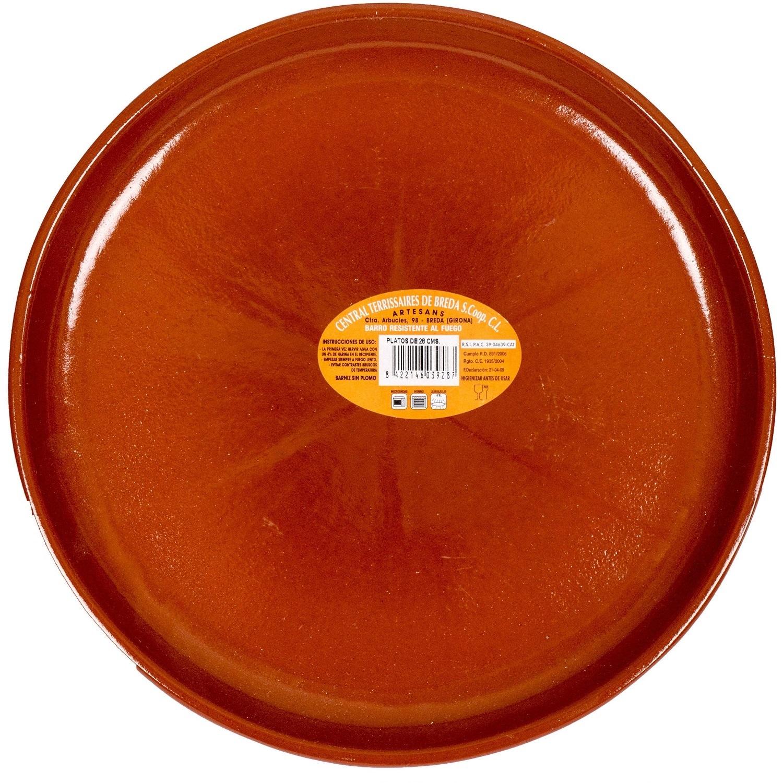Terrissaires Plato Teller aus Keramik 28cm