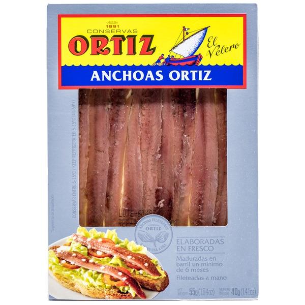 Ortiz Anchoas Sardellen in Olivenöl 40g