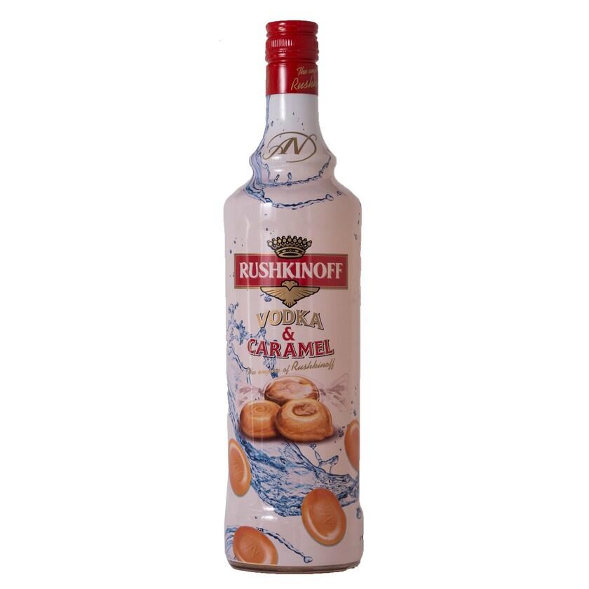 Rushkinoff Vodka & Caramel 0,7l