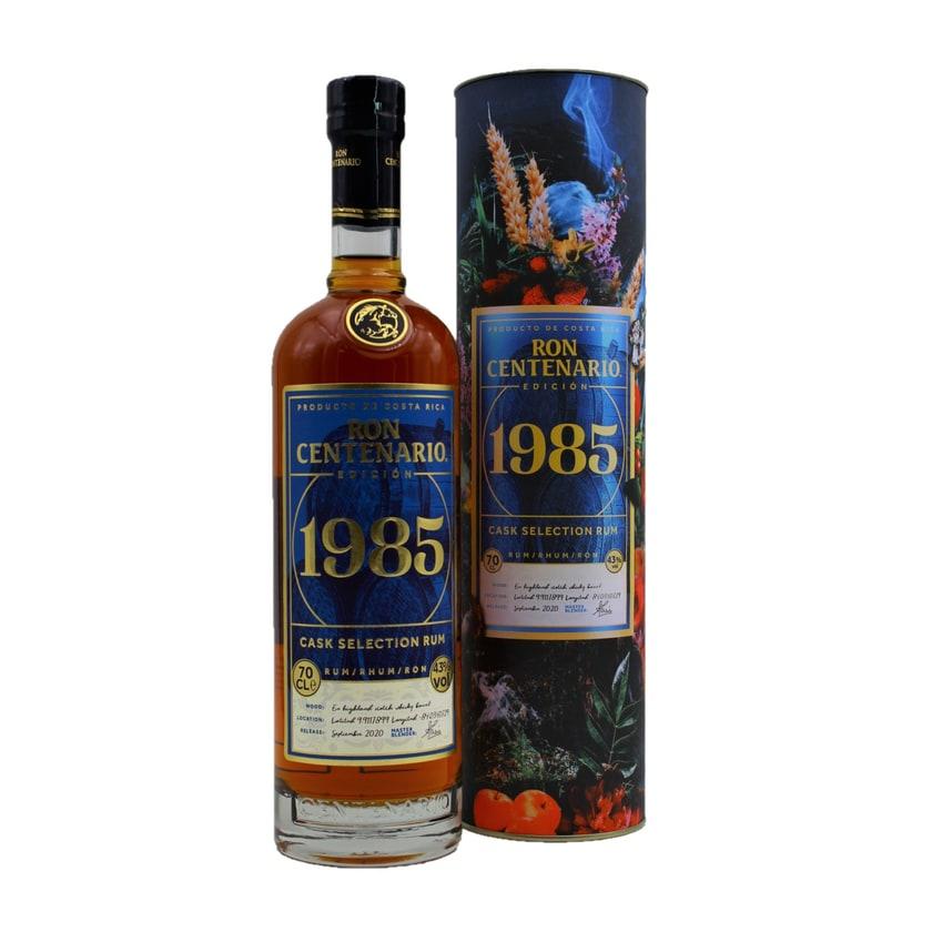 Ron Centenario 1985 cask selection Rum 700ml